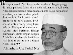 Almarhum Ust Fadzil Nor