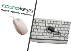 Waterproof Keyboard and Mouse Set - Econo-Keys