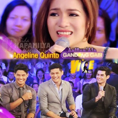 Angeline Quinto on GGV (March 16) with Daniel Matsunaga, Fabio Ide and Hideo Muraoka