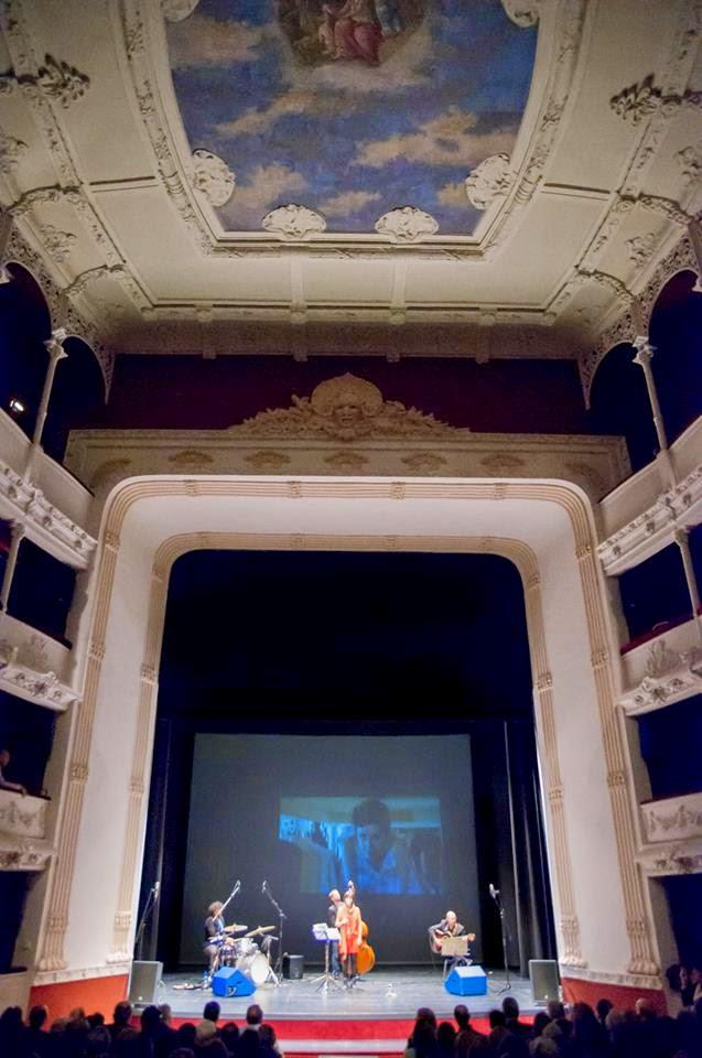 Vista general del interior del Teatro Principal de Palencia