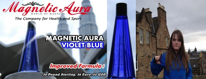 MAGNETIC AURA VIOLET BLUE