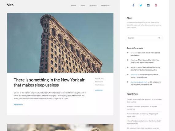 Vito Wordpress theme