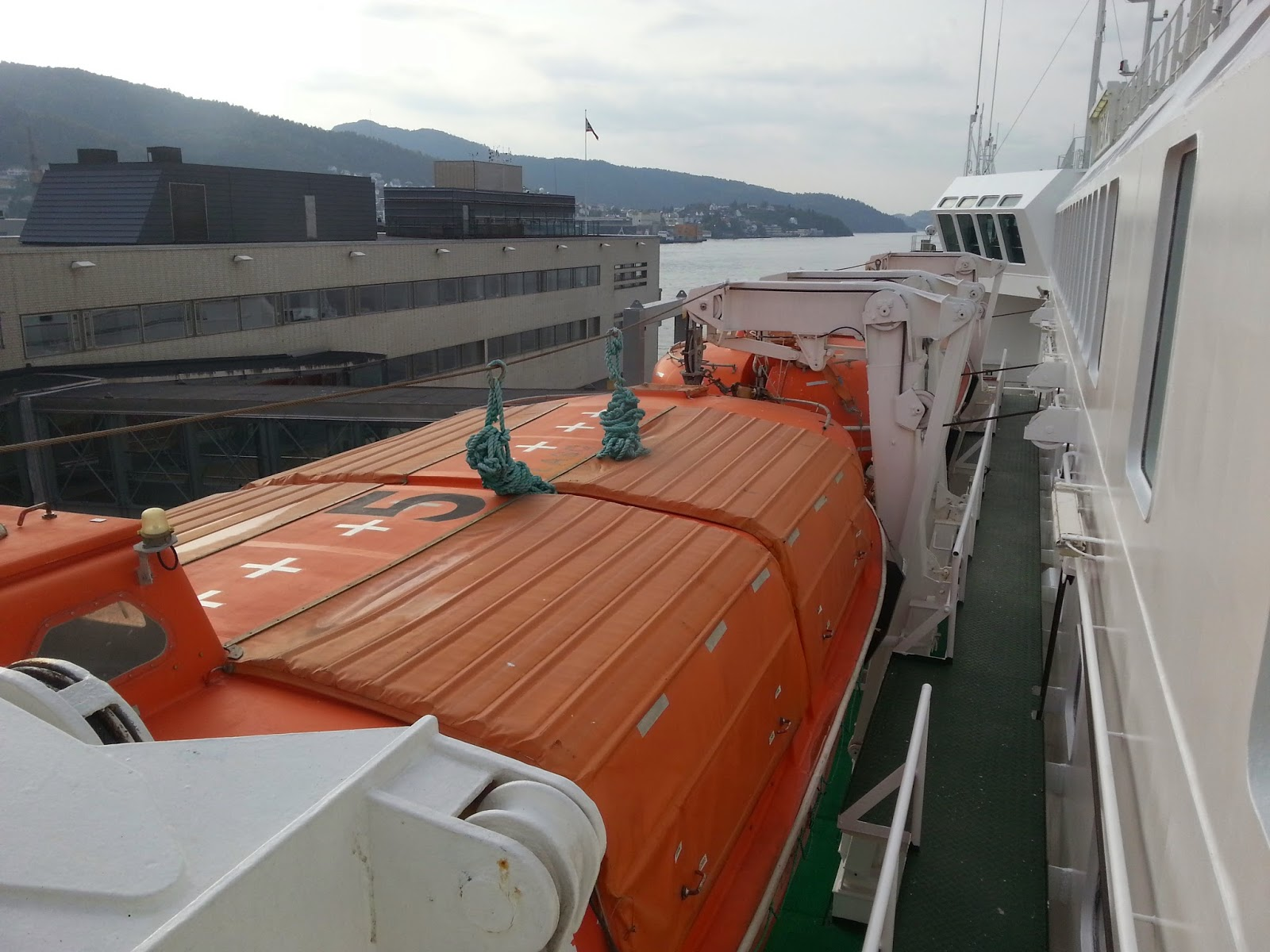 Hurtigruten MS Nordkapp - Lifeboats