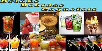 BEBIDAS E DRINKS ALCOÓLICAS