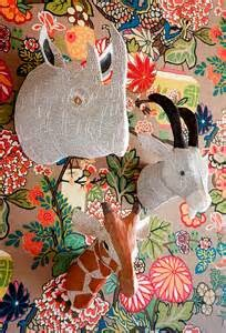 paper mache wallpaper