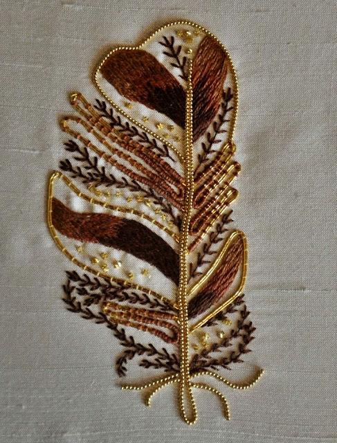 haftowane liscie