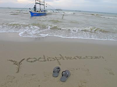 Sand Writing yodisphere blog