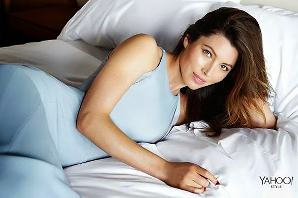 Jessica Biel on the pages of the online magazine