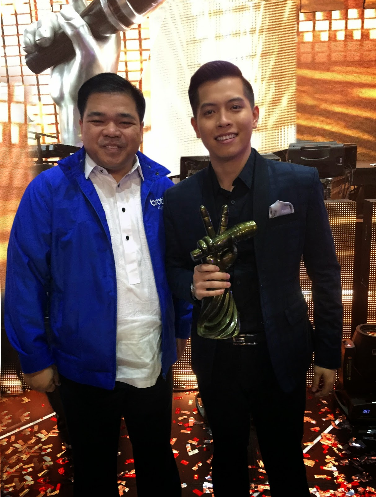 Glenn Hocson and Jason Dy