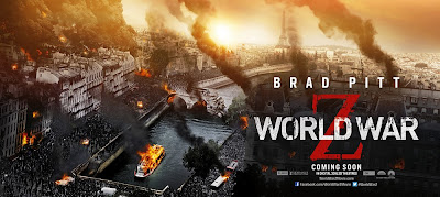 World War Z Banner Poster Paris