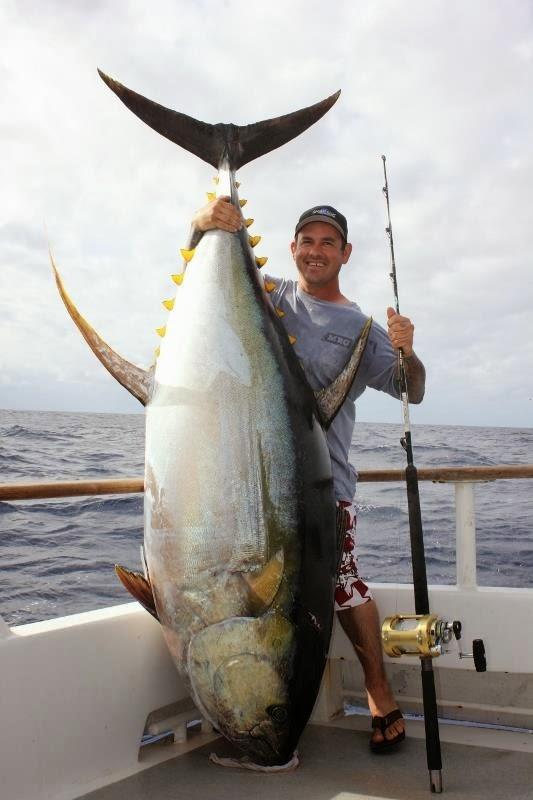 В Австралии поймали тунца весом 103 кг