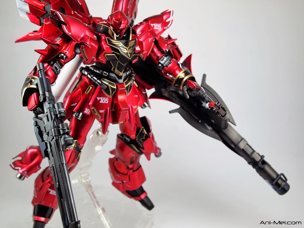 Custom MG Sinanju OVA ver modelled by Shiro11 Photo