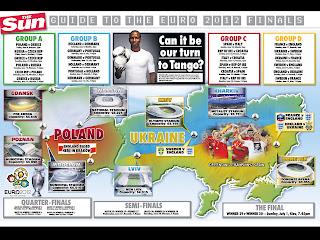 euro 2012 schedule