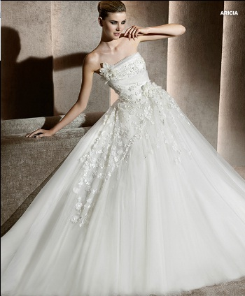 una novia diferente: elie saab para pronovias 2012- vestidos de
