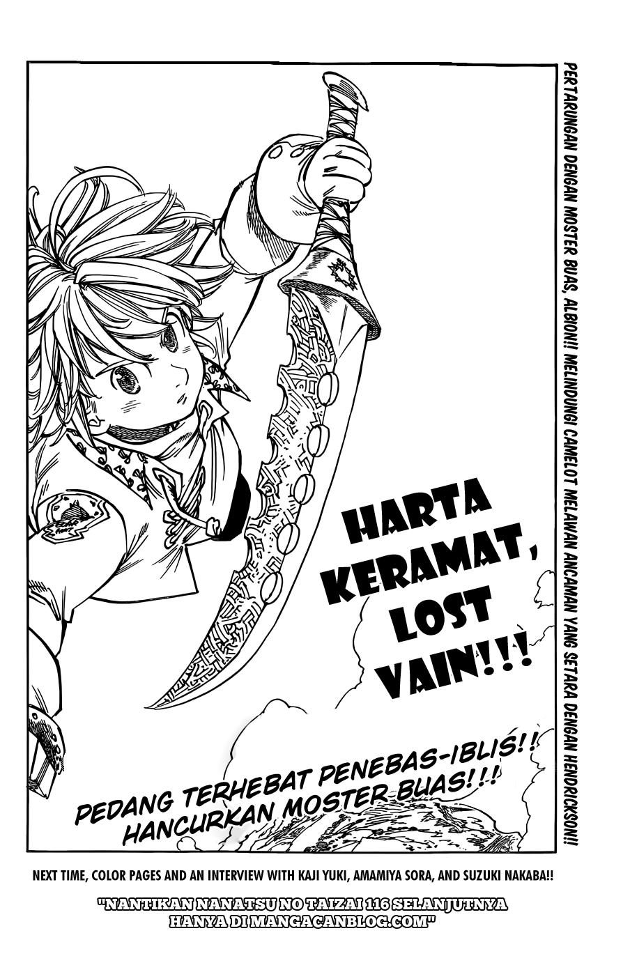 Komik nanatsu no taizai 115 - chapter 115 116 Indonesia nanatsu no taizai 115 - chapter 115 Terbaru 19|Baca Manga Komik Indonesia
