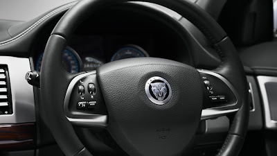 World's Beautiful Cars: Jaguar XF Luxury Sedan Exterior and Interior