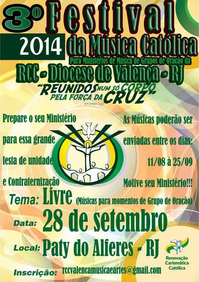 3° Festival de Música Católica da RCC Valença