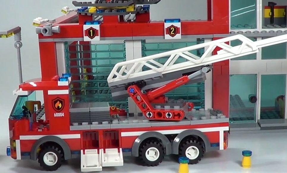 Detoyz Shop Lego 60004 City Fire Station