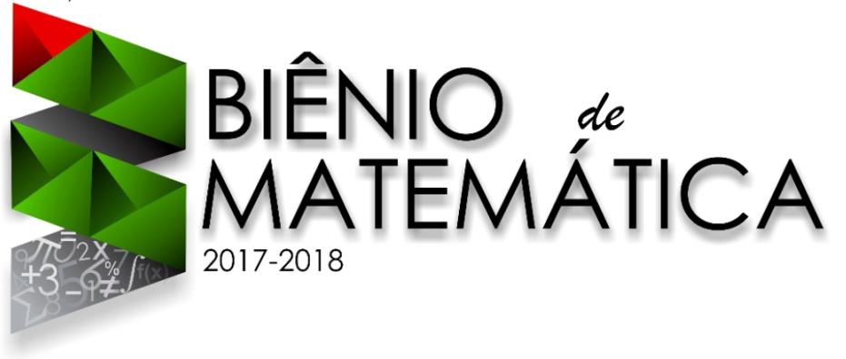 Logomarca Biênio da Matemática 2017 - 2018 no IFNMG