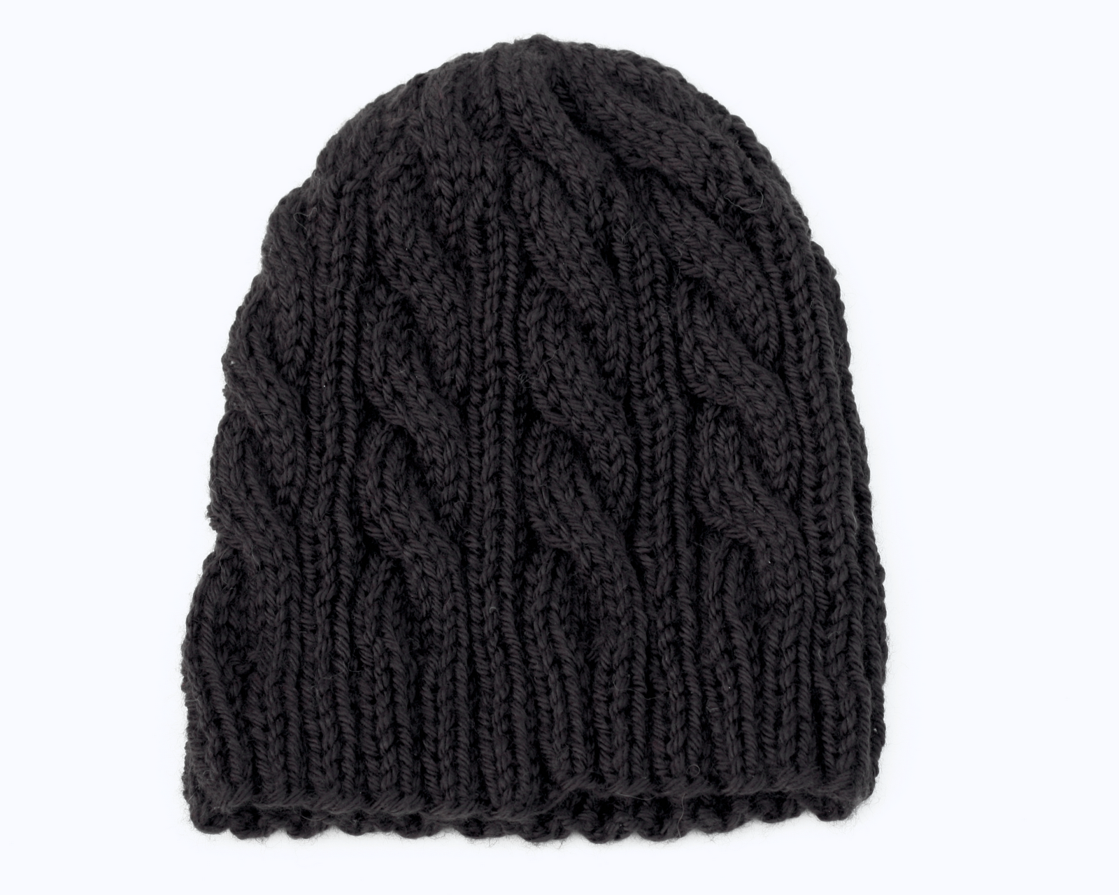 Knitting Pattern For Beanie : Living the Creative Life: Classic Knit Beanies