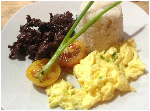 Kanto Freestyle Breakfast Batangas Tapa