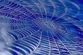 sus azules telas