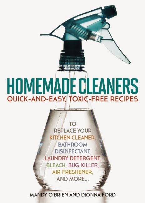 Review & #Giveaway - Homemade Cleaners by Mandy OBrien & Dionna Ford