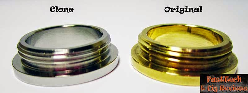 Caravela clone locking ring thread comparison to original caravela