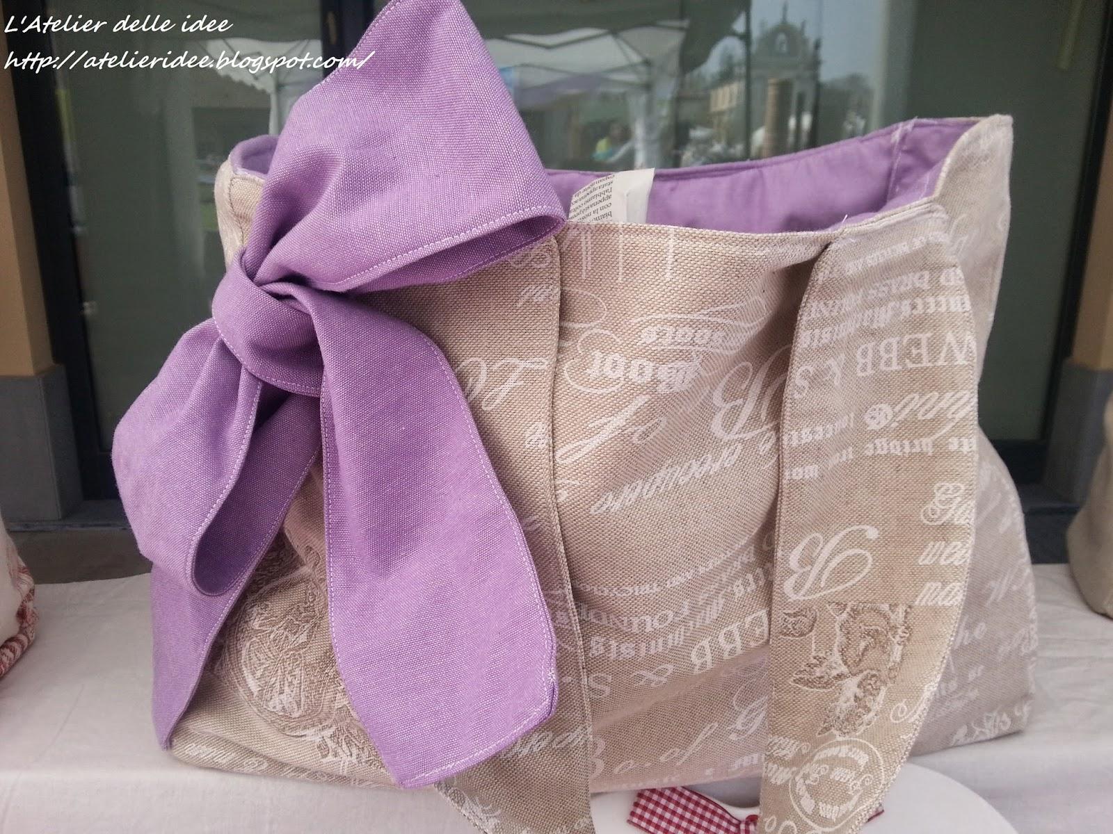 Cucito creativo borse