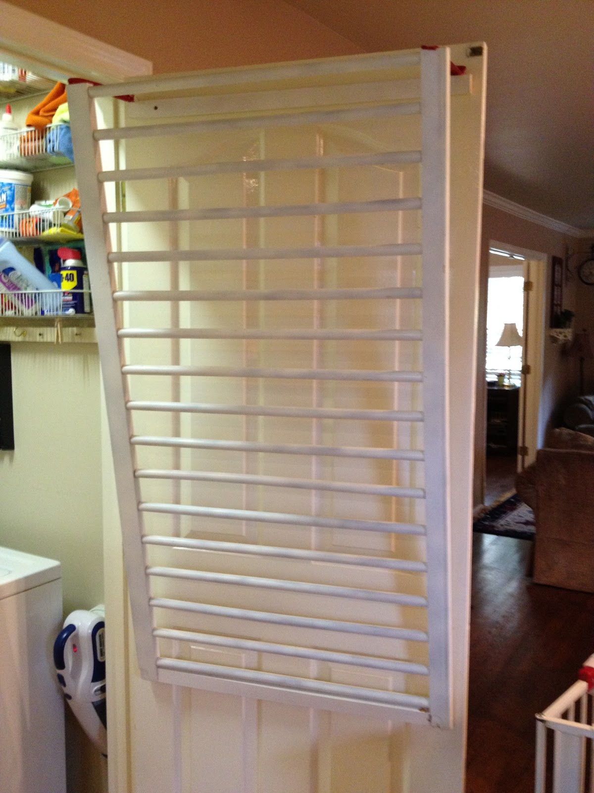 always something tutorials make a ballard inspired drying rack