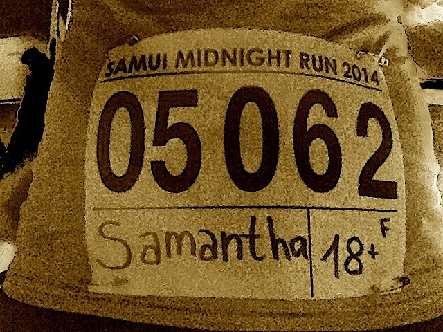 Koh Samui Thailand Midnight Run 2014