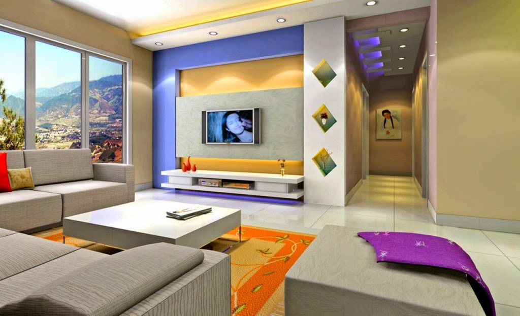 Interior Design Ideas Living Room With Tv