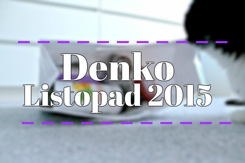 Denko listopad 2015