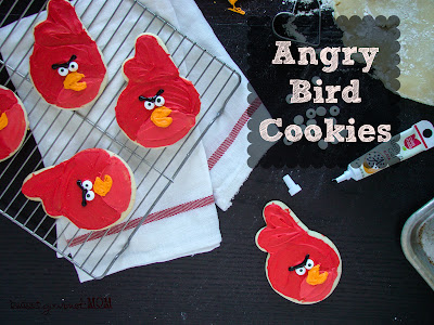 Budget Gourmet Mom's Angry Birds Cookies great idea for new food business