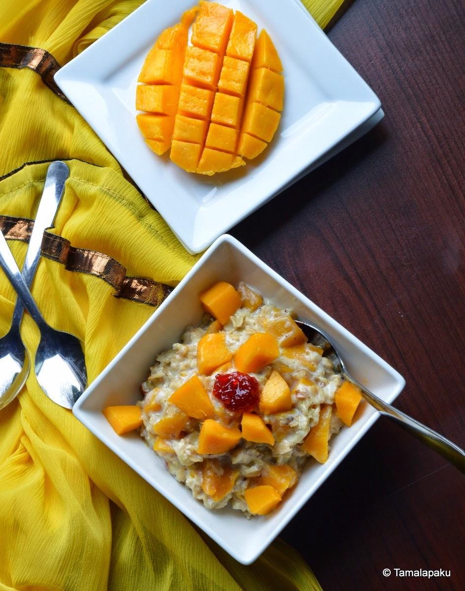 Mango Oatmeal