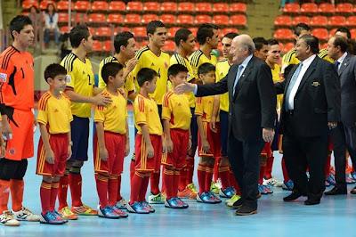 Colombia sería la sede del mundial de Futsal 2016