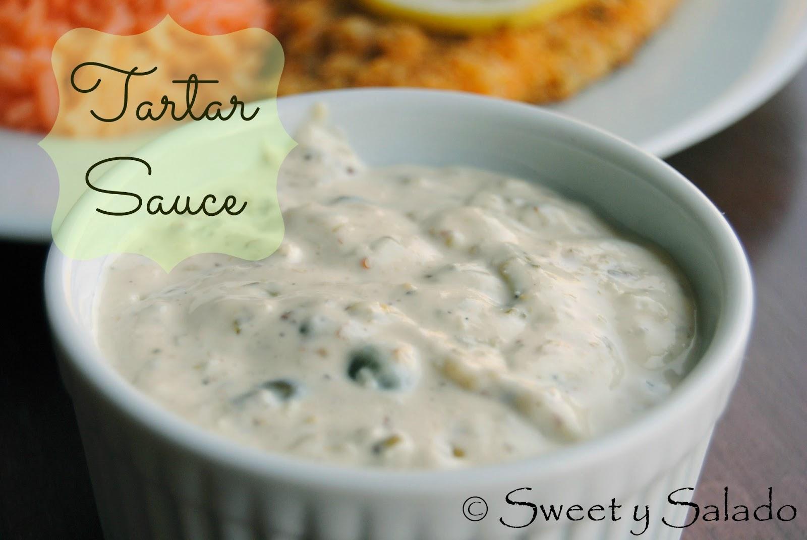 Sweet y Salado: Tartar Sauce
