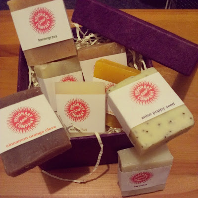 Visionary Soap giveaway mini soap gift set prize