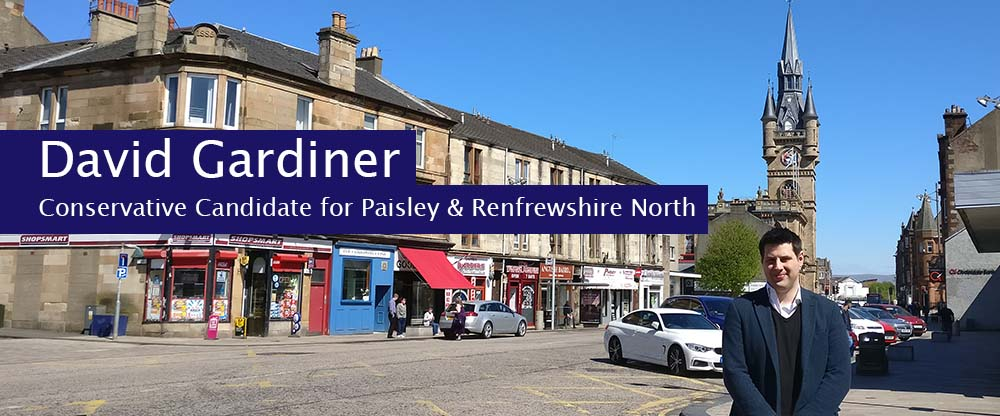 David Gardiner for Paisley and Renfrewshire North