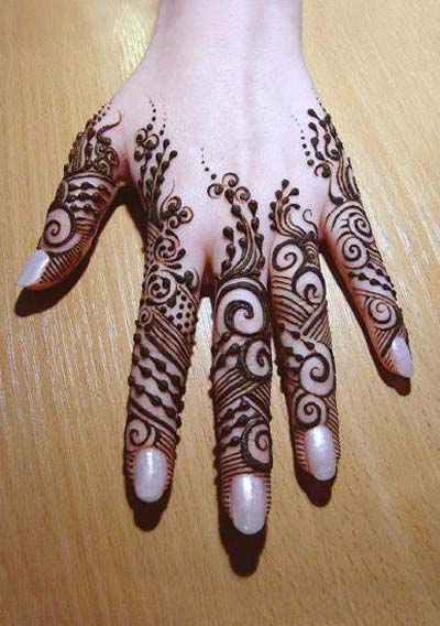 Mehndi Tattoo Ladies : New mehndi designs for girls women fashion point