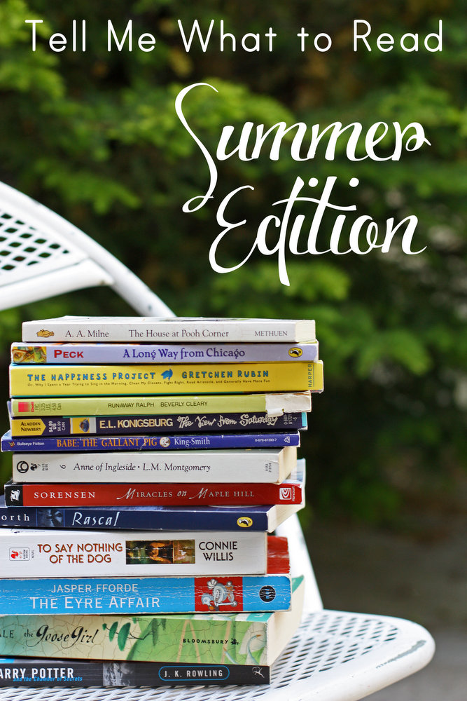 Terrific book recommendations for summer reading
