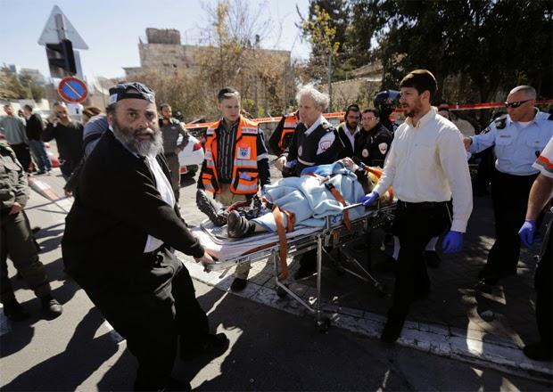 Motorista comete atentado em Jerusalém