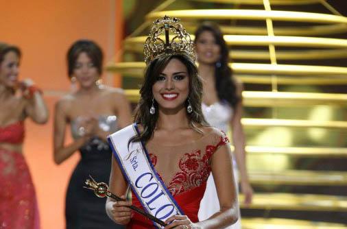 Miss Colombia Universe 2013 Carmen Lucia Aldana Roldan