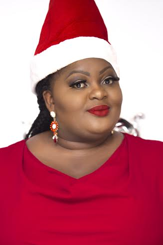 Eniola Badmus Stuns In Her Own Christmas Photos
