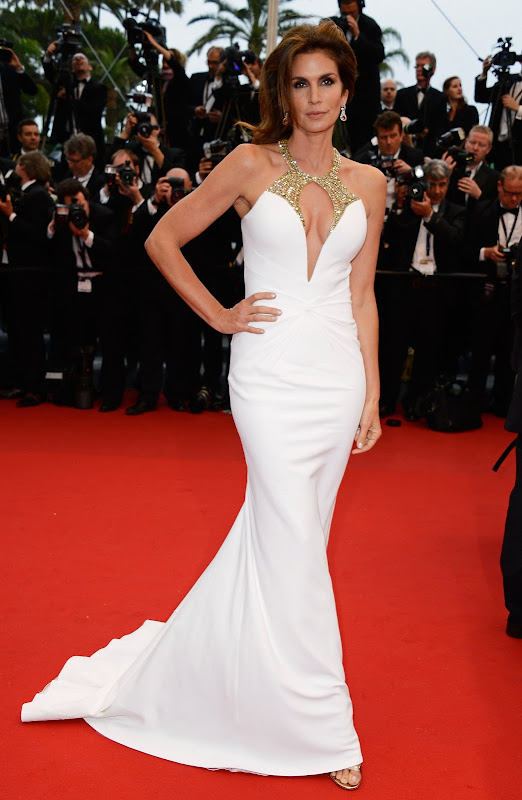 Cindy Crawford attends  2013 Cannes Film Festival Opening Ceremony