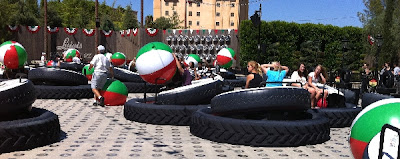 Luigi's Flying Tires at Cars Land