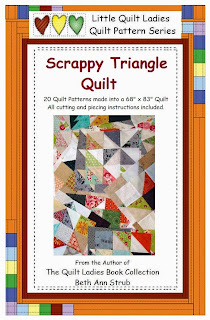 Scrappy Triangle quilt pattern book