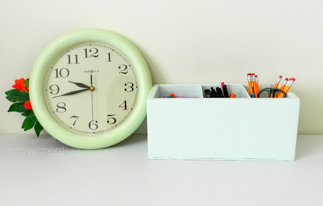 Clock makeover: growcreative
