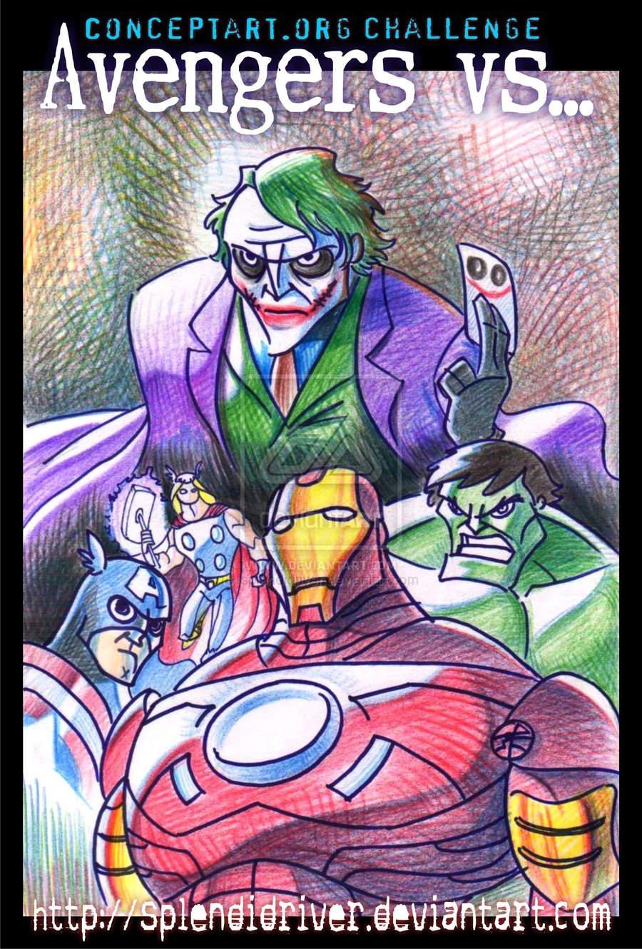 Avengers vs...? por splendidriver