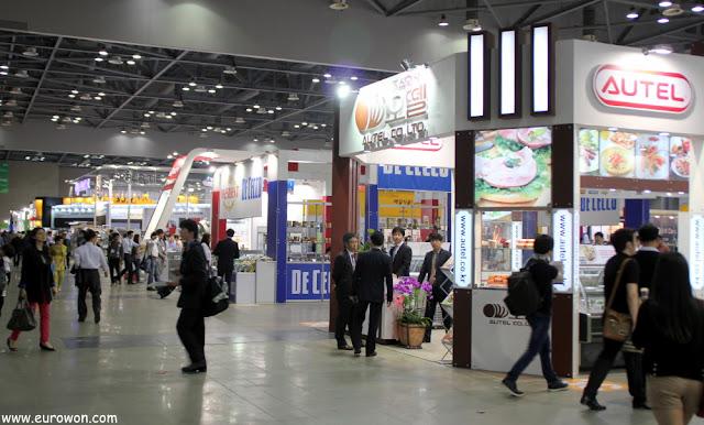 Pasillos del Korea Food Show 2013